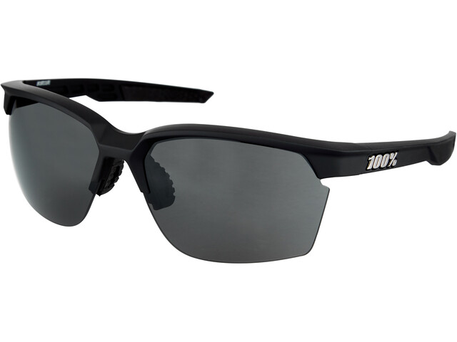 100% Sportcoupe Lunettes, soft tact black
